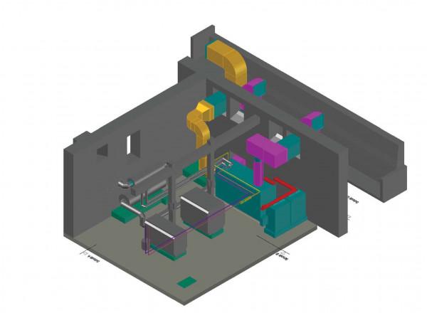 Energiezentrale Lungenklinik Ballenstedt