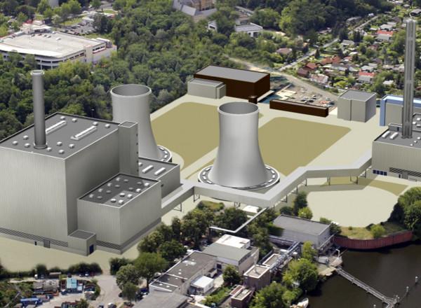 GuD-Heizkraftwerk Lichterfelde