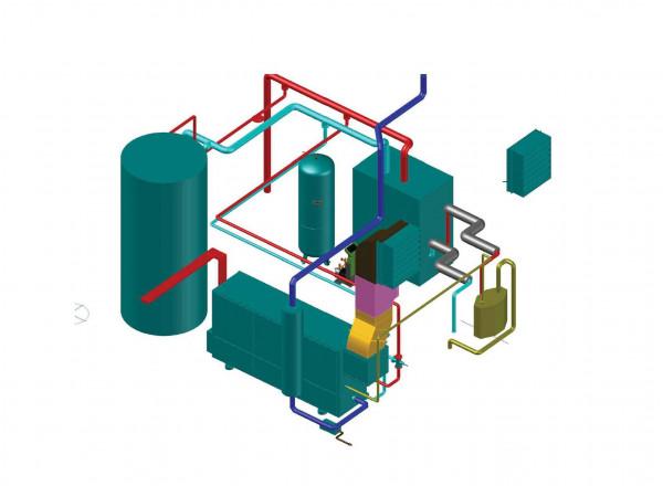 Energiezentrale BSR Nordring