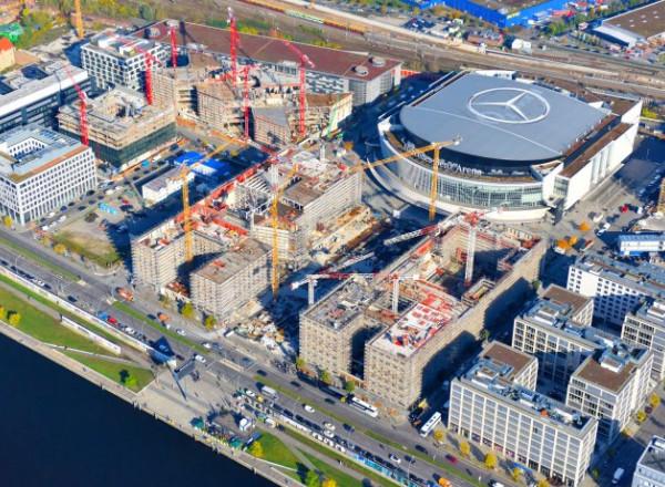 Energiezentralen Mercedes Platz